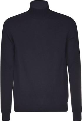 Roberto Collina High-neck Ribbed Sweater