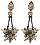 Deepa Gurnani Fashion Jewellery Long Drop Statement Earrings