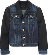 DSQUARED2 Mini Me bi-material jacket