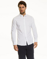 Le Château Textured Cotton Slim Fit Shirt