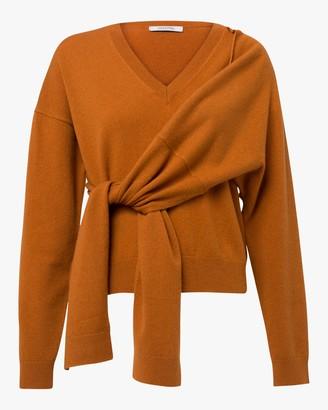 Dorothee Schumacher Deconstructed Gathered-Waist Sweater