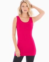 Soma Intimates Tunic Layering Tank Pink Punch