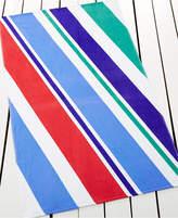 Martha Stewart Collection Cotton Beach Ball Stripe Beach Towel