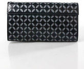 Alaia Black Leather Laser Cut Clutch