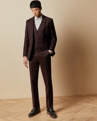 Ted Baker Debonair Plain Wool Suit Trousers