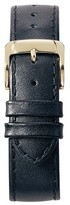 Speidel Stitched Calfskin Replacement Watchband Fits 14mm - Black