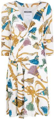 Moschino Tassel-Print Dress