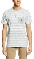U.S. Polo Assn. Men's Striped Henley Pocket T-Shirt