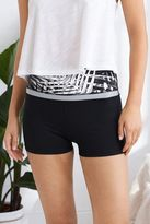 aerie Move Black & White Short