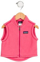 Patagonia Girls' Textured Stand Collar Vest