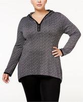 Belldini Plus Size Hooded Sweater