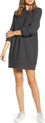 Lou & Grey Long Sleeve Crewneck Sweater Dress