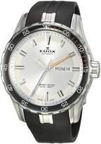 Edox Men's 88002 3ORCA ABUN Grand Ocean Analog Display Swiss Automatic Black Watch