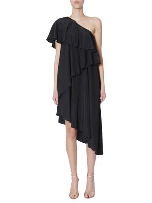 Lanvin One Shoulder Dress