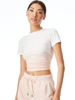 Thumbnail for your product : Alice + Olivia Cindy Ombre Classic Cropped Tee