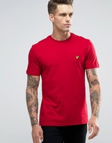 Lyle & Scott T-shirt Eagle Logo In Red