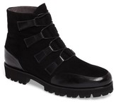 Pas De Rouge Women's Lace-Up Weatherproof Boot
