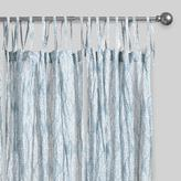 Cost Plus World Market Blue Kashvi Crinkle Sheer Voile Curtains Set of 2