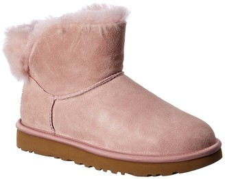 UGG Classic Bling Suede Mini Bootie