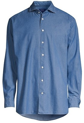 Eton Contemporary-Fit Chambray Soft Casual Shirt