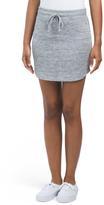 Drawstring Athleisure Skirt