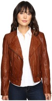 Stetson Motto Style Leather Jacket