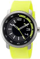 Puma Unisex PU103291003 Overdrive Analog Display Quartz Green Watch