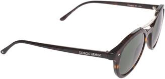 Giorgio Armani Dark Brown Tortoise Frames of Life Sunglasses
