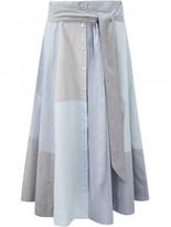 Lisa Marie Fernandez patchwork skirt