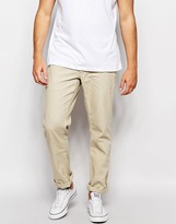 Patagonia Chinos In Washed Canvas Regular Fit - Beige
