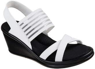 Skechers Womens Rumblers - Solar Burst Wedge Sandals