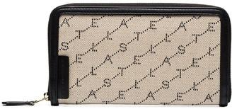 Stella McCartney Monogram Zip Wallet