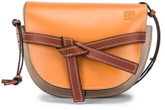 Loewe Gate Small Bag in Amber Light & Grey Rust | FWRD