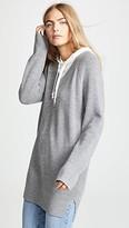 Alexander Wang Sweater Tunic with Inner Hoodie