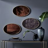 west elm Scenery Wall Mirrors - Small Oval