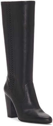 Vince Camuto Women's Casual boots BLACK - Black Coranna Leather Boot - Women