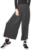 Topshop Women's Polka Dot Palazzo Trousers