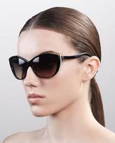 Alexander McQueen Classic Cat-Eye Sunglasses