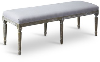 Baxton Studio Clairette Wood Traditional French Bench