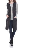 Sisters Long Grey Vest