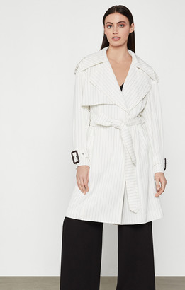 BCBGMAXAZRIA Aurora Long Trench Coat