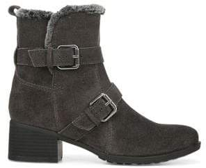 Naturalizer Deanne Faux Fur-Lined Suede Booties