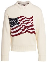Tommy Hilfiger Edition Ribbed American Flag Sweater