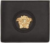 Versace Black Palazzo Medusa Bifold Wallet