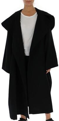 Yohji Yamamoto Oversized Hooded Coat