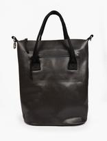 Eytys Black Custom Polyester 'void' Tote Bag