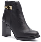Tommy Hilfiger Pebbled Leather Ankle Boot