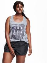 Old Navy Go-Dry Plus-Size Graphic Tank