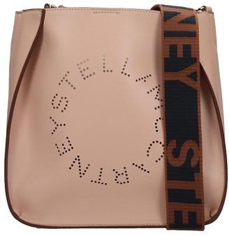 Stella McCartney Shoulder Bag In Rose-pink Faux Leather