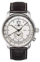 Zeppelin Men's Quartz Watch 100 Jahre 76401 with Leather Strap